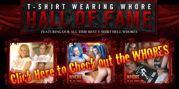 T-Shirt Wearing Whores